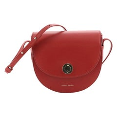 Mansur Gavriel Saddle Bag Leather Mini