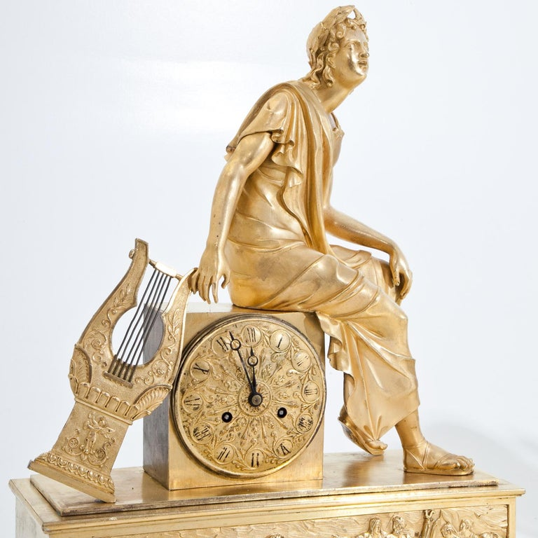 Mantel Clock, France First Quarter of the 19th Century For Sale 1