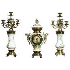 Mantel Set from the 2nd Half of the 19th Century