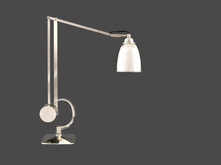 Austrian Functional Mid Century Modern Style, Desk Lamp Re Edition For Sale