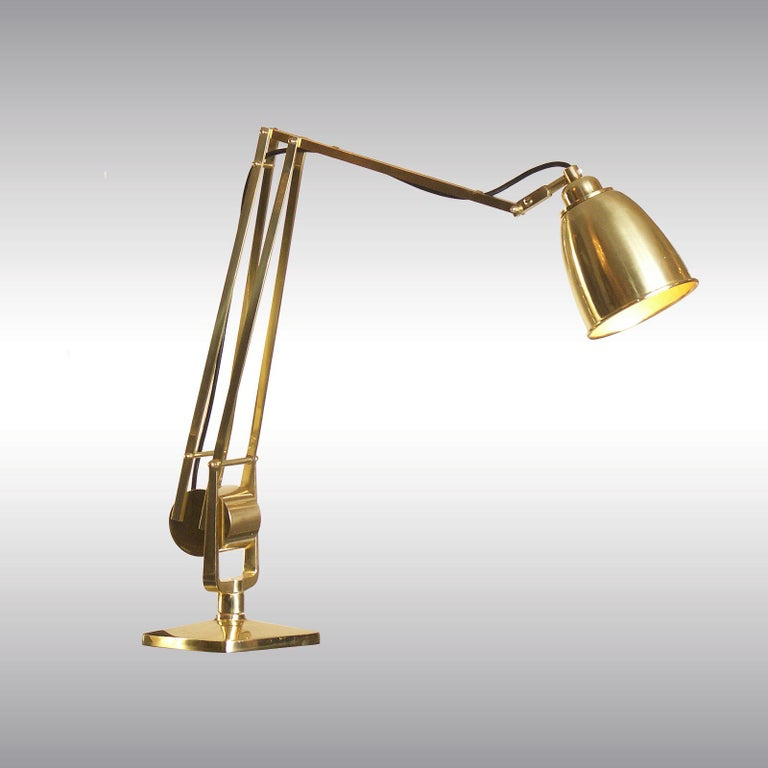 Austrian Mantodeus Table Lamp Mid-Century Modern Style Re-Edition  For Sale