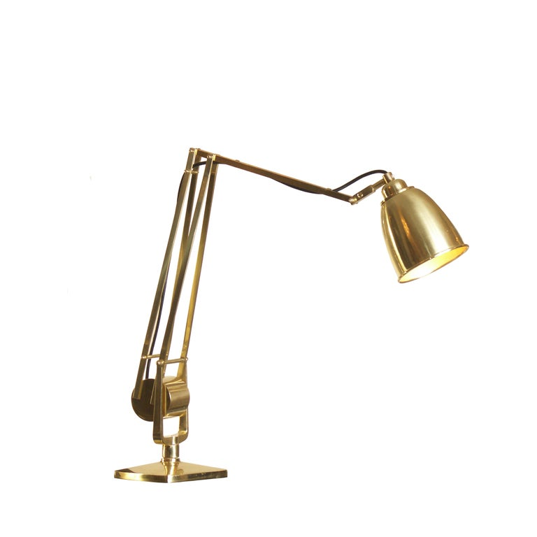 Hand-Crafted Mantodeus Table Lamp Mid-Century Modern Style Re-Edition  For Sale