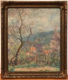 Impressionist Countryside Landscape
