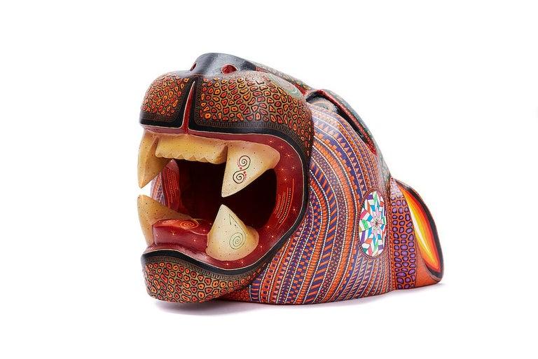 Mascara Jaguar - Jaguar Mask - Mexican Folk Art  Cactus Fine Art 5