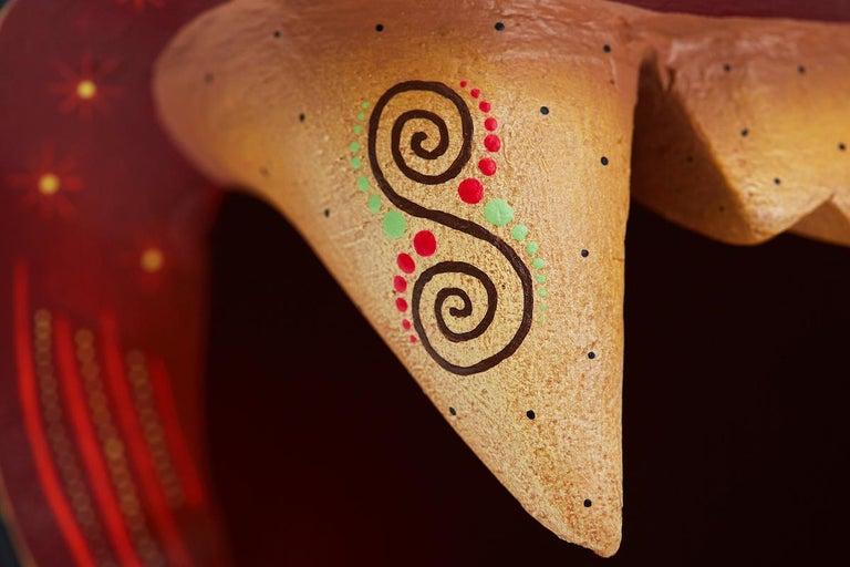 Mascara Jaguar - Jaguar Mask - Mexican Folk Art  Cactus Fine Art 7