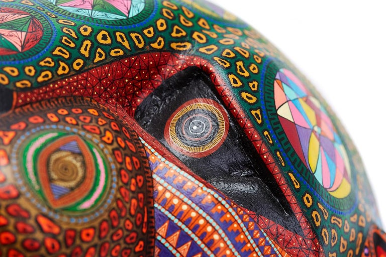Mascara Jaguar - Jaguar Mask - Mexican Folk Art  Cactus Fine Art 10