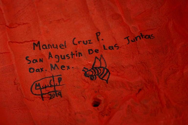 Mascara Jaguar - Jaguar Mask - Mexican Folk Art  Cactus Fine Art 15