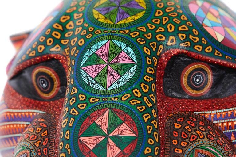 Mascara Jaguar - Jaguar Mask - Mexican Folk Art  Cactus Fine Art 1