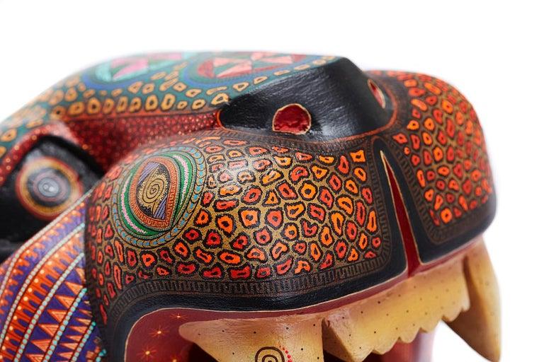 Mascara Jaguar - Jaguar Mask - Mexican Folk Art  Cactus Fine Art 4
