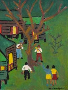 Fiesta en el Campo - Puerto Rican Art