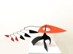 Mobile sculpture by Manuel Marin - Polychrome metal - 1990s