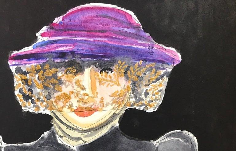 Anna Piaggi - Art by Manuel Santelices