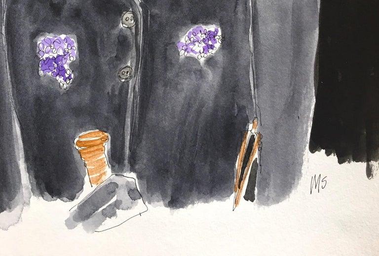 Anna Piaggi - Contemporary Art by Manuel Santelices