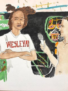 Basquiat gives and interview