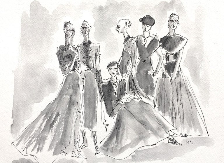 Dior couture - Art by Manuel Santelices