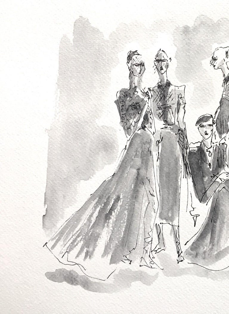 Dior couture - Contemporary Art by Manuel Santelices