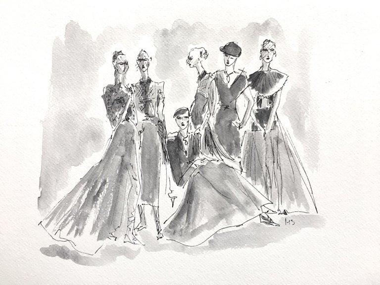 Manuel Santelices Figurative Art - Dior couture