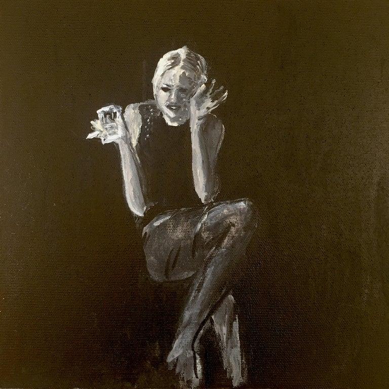 Manuel Santelices Portrait Painting - Edie Sedgwick (2020)