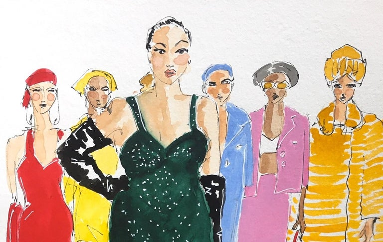 Marc Jacobs fall 2020 - Contemporary Art by Manuel Santelices