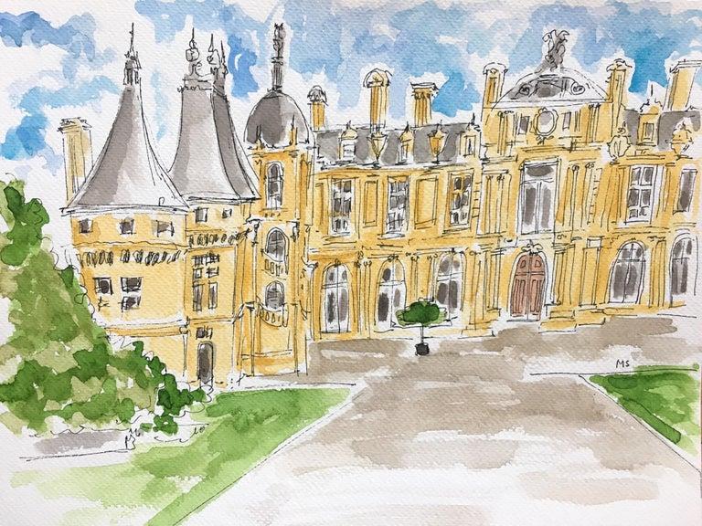 Manuel Santelices Figurative Art - The Palace