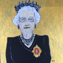 The Queen. Painting