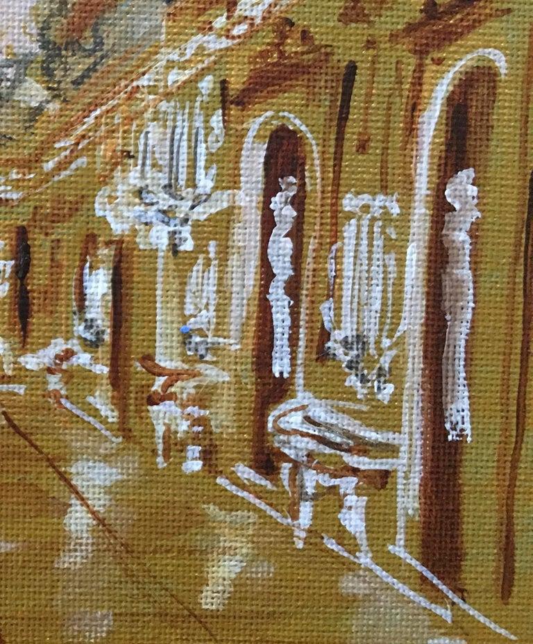 Versailles - Brown Interior Art by Manuel Santelices