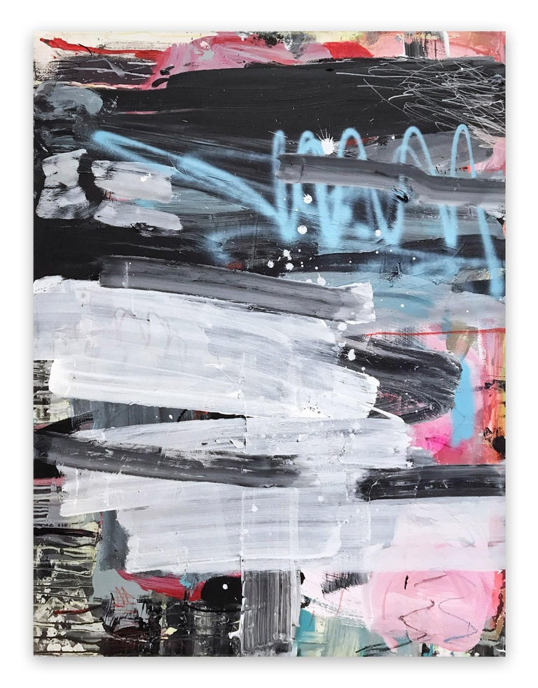 Covers 1&2 (Abstract painting) - Painting by Manuela Karin Knaut