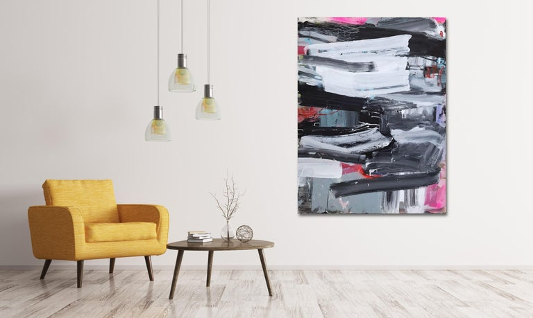 Covers 1&2 (Abstract painting) For Sale 2