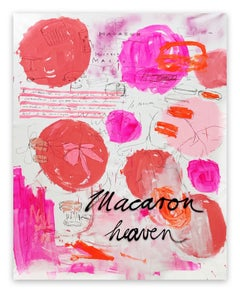 Macaron Heaven (Abstract painting)