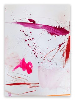 Rosy cheeks and bubbly 4 (Abstract work on paper)