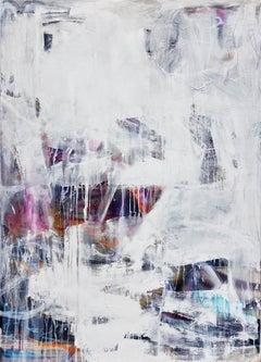 Transatlantic - Expressive painting, abstract art, Contemporary Art, 21stC