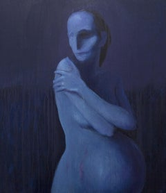 Maternity by Manuell Manastireanu Contemporary 21st Century European Artist