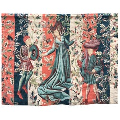 Manufacture Robert Four, Printed Tapestry after a 16th Century Tapestry