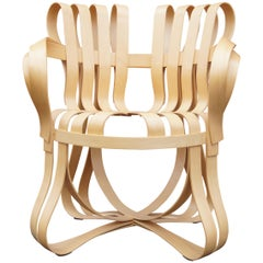 Maple Bentwood Cross Check Armchair by Frank Gehry for Knoll