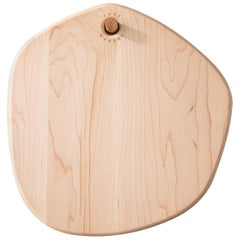 Maple Hexagon Pebble Cutting Board, in Stock