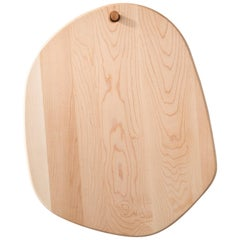 Maple Large Hexagon Pebble Cutting Board, in Stock