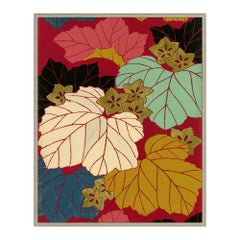 Maple Leaf Festival Japanese Print by CuratedKravet