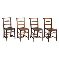 Maple and Oak Chapel Chairs