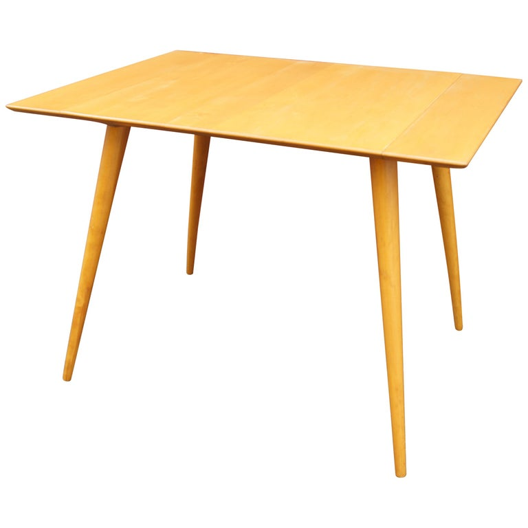 Maple Planner Group Dining Table with Extensions by Paul McCobb For Sale