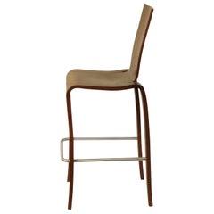 Maple Plybent Bar Chair in Walnut, Set of 2 Vintage Peter Danko