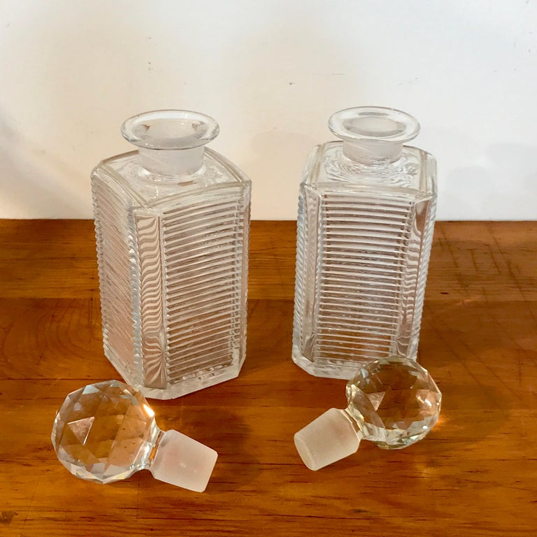 Mappin Bros. Diminutive Tauntless with Cut Glass Decanters For Sale 5