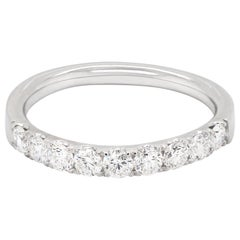 Mappin & Webb Diamond Half Eternity Platinum Ring