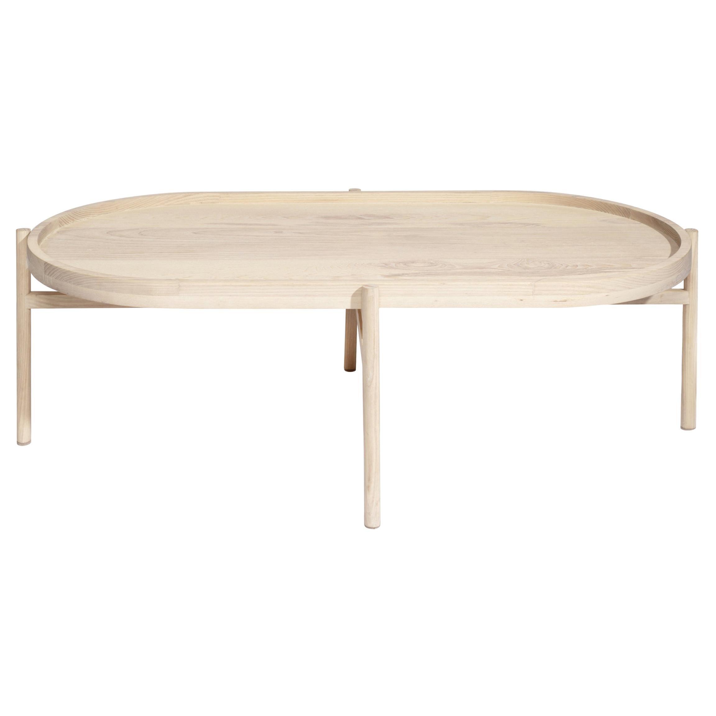 Mar solid ash wood Coffee Table