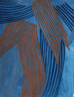 Mara Held, Borgonuovo 3, Egg Tempera on Paper, 2015