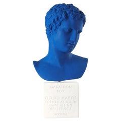 In Stock, Marathon Statue in Blue XL