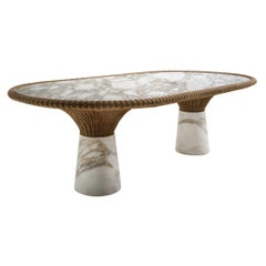"Marble ""Amazonas"" Dining Table, Giorgio Bonaguro"