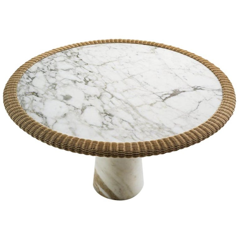 "Marble ""Amazonas"" Dining Table, Giorgio Bonaguro For Sale"