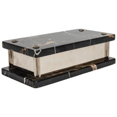 Marble and Nickel Box