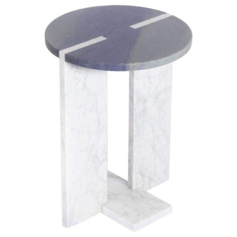 "Marble ""Athos"" Side Table, Giorgio Bonaguro For Sale"
