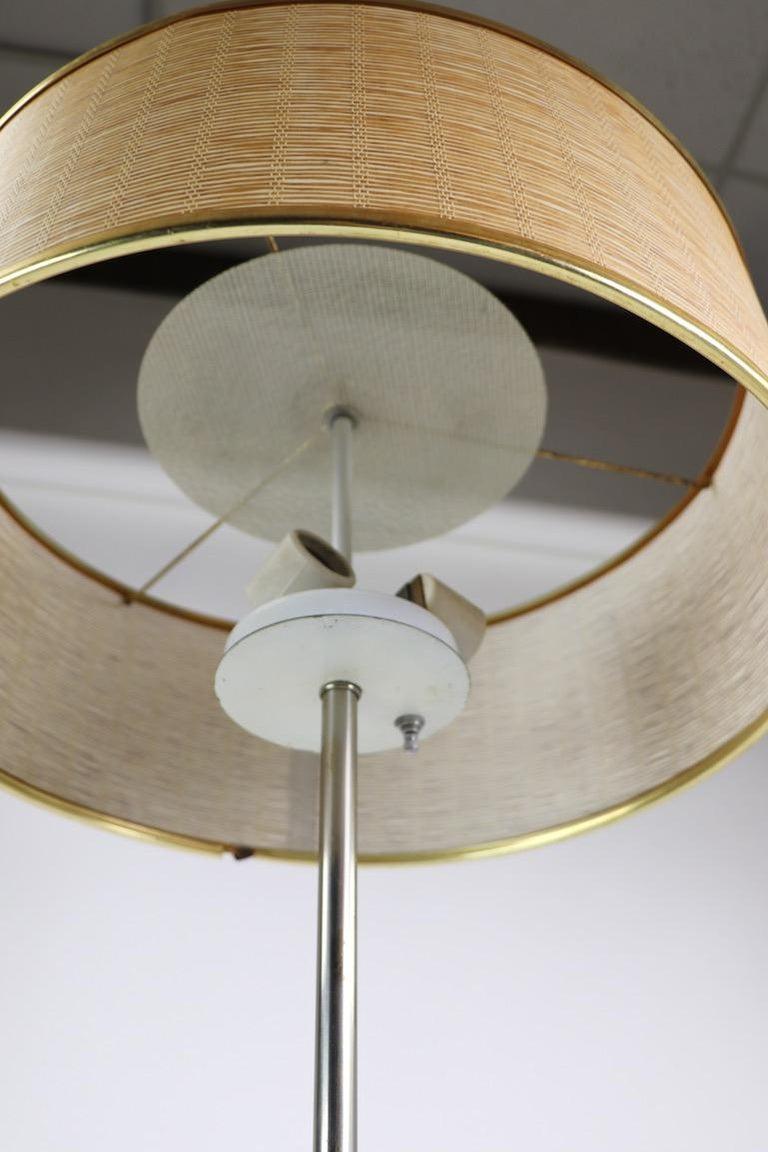 Marble Base Floor Lamp by Laurel For Sale 3